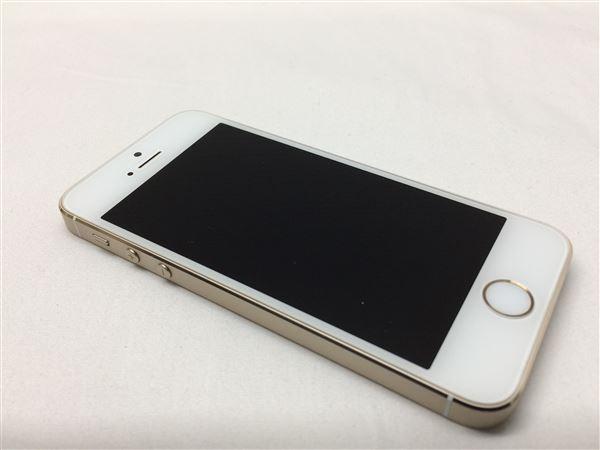 【中古】【安心保証】 SoftBank iPhone5s[16G] ゴールド
