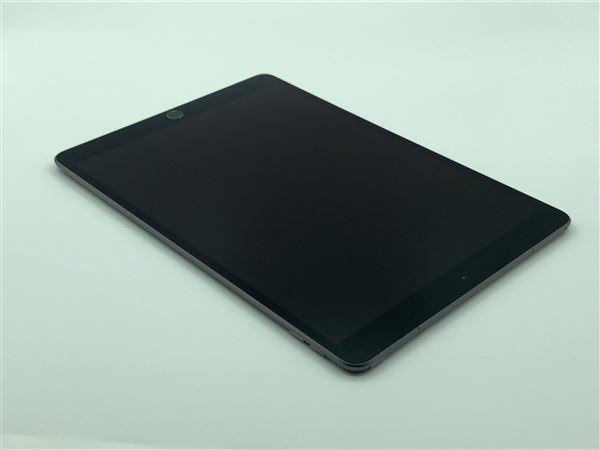 【中古】【安心保証】 au 10.5iPad Air 3[セルラー64G] グレイ