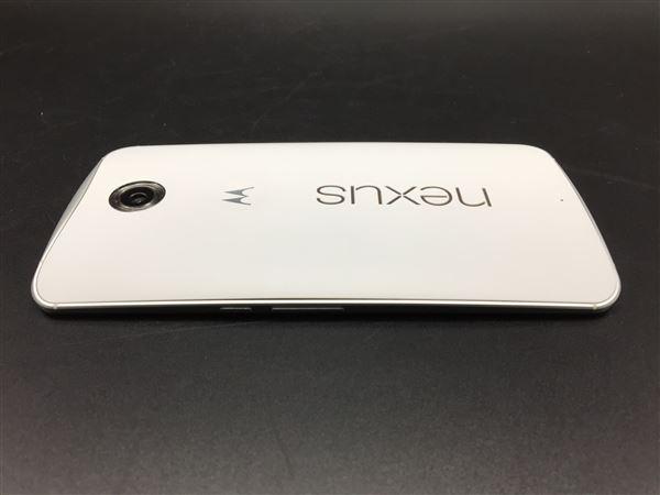 【中古】【安心保証】 SIMフリー Nexus6[32G] クラウドホワイト
