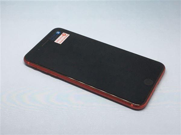 【中古】【安心保証】 au iPhone8Plus[64G] レッド
