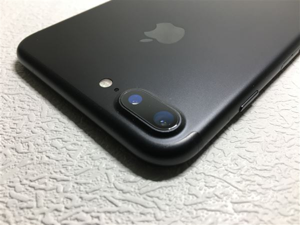 【中古】【安心保証】 SIMフリー iPhone7Plus[256G] ブラック