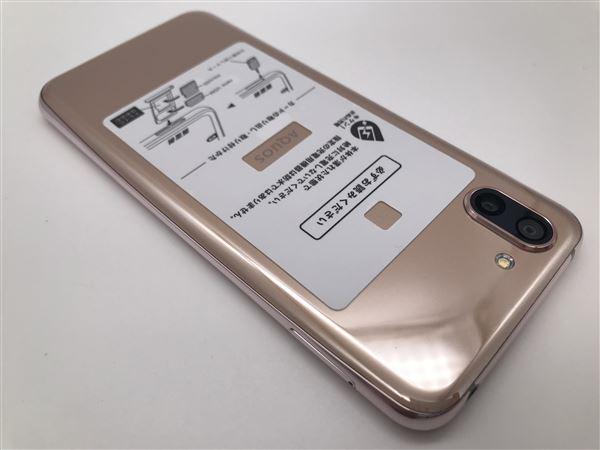 【中古】【安心保証】 SoftBank 706SH ピンクゴールド