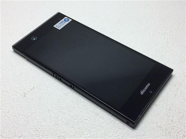 【中古】【安心保証】 docomo Fー02H ブラック