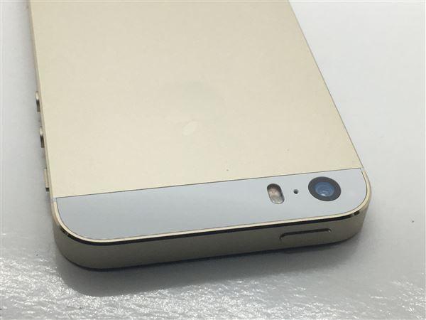 【中古】【安心保証】 docomo iPhone5s[32GB-d] ゴールド