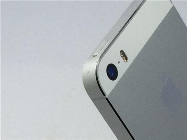 【中古】【安心保証】 SoftBank iPhone5s[16G] シルバー