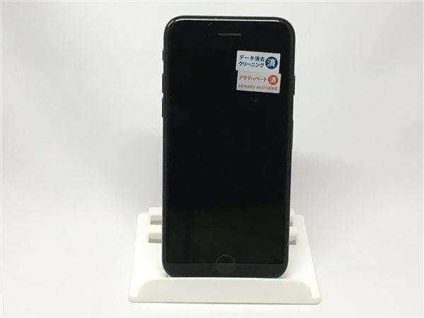 【中古】【安心保証】 SoftBank iPhone7[128GB] ジェットブラック