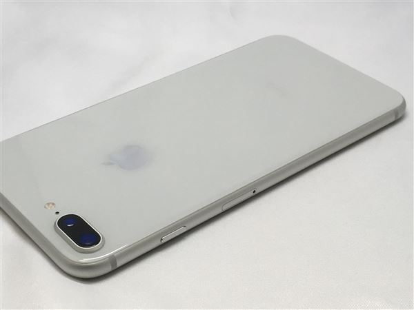 【中古】【安心保証】 au iPhone8Plus[256G] シルバー