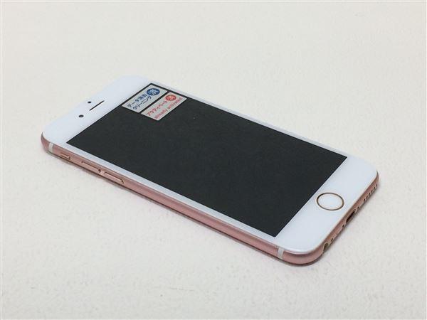 【中古】【安心保証】 au iPhone6s[64G] ローズゴールド