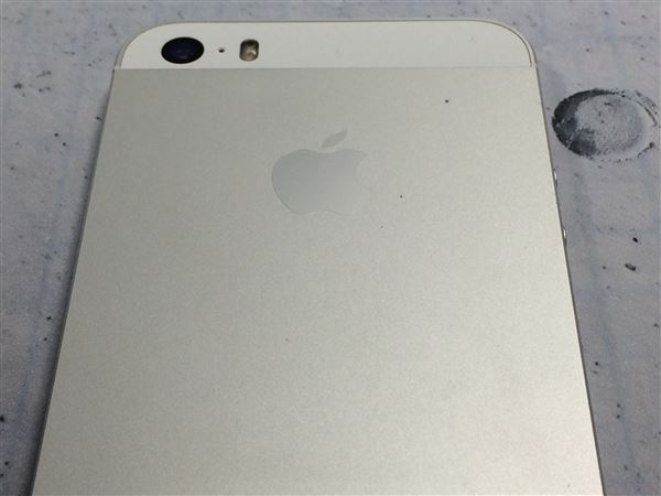 【中古】【安心保証】 SoftBank iPhone5s[16G] シルバー