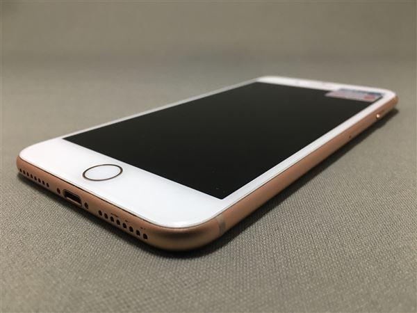 【中古】【安心保証】 au iPhone8Plus[64G] ゴールド