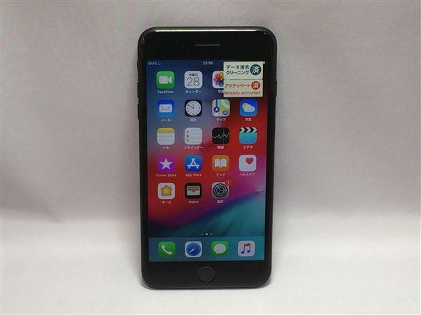【中古】【安心保証】 au iPhone7Plus[256G] ブラック