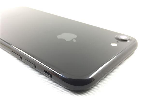【中古】【安心保証】 docomo iPhone7 128GB ジェットブラック SIMロック解除済