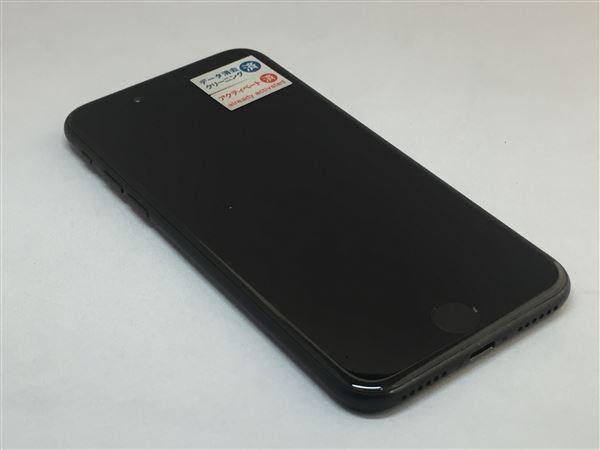 【中古】【安心保証】 docomo iPhone7 128GB ブラック SIMロック解除済