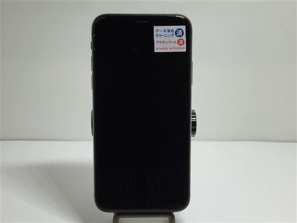 【中古】【安心保証】 SoftBank iPhoneX[256GB] スペースグレー