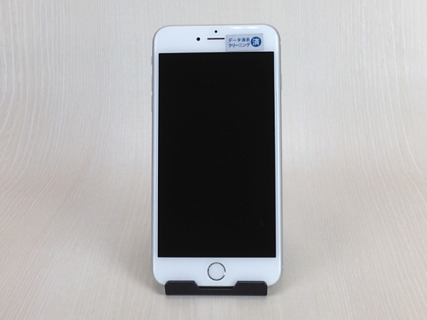 【中古】【安心保証】 au iPhone6Plus[128G] シルバー