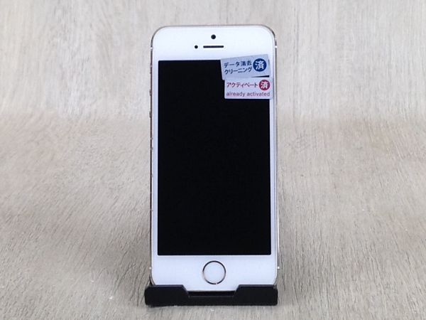 【中古】【安心保証】 SoftBank iPhone5s[32G] ゴールド