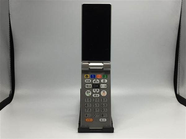 【中古】【安心保証】 SoftBank 505SH シルバー