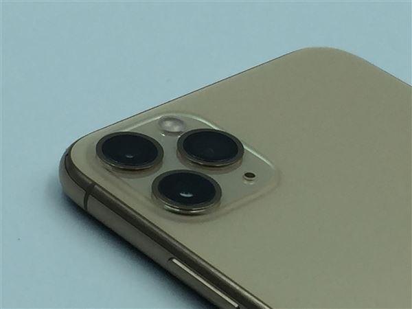 【中古】【安心保証】 SoftBank iPhone11 Pro Max[64G] ゴールド