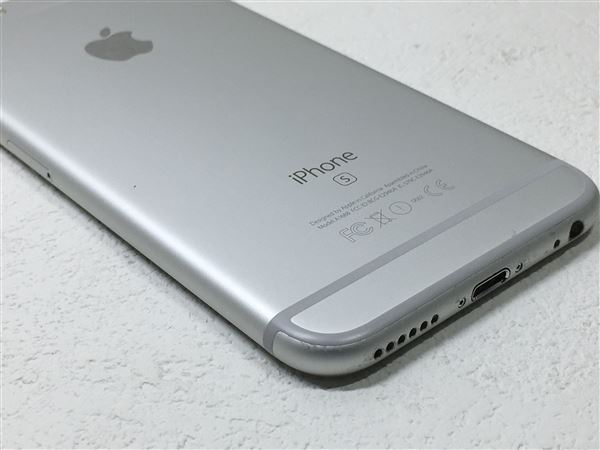 【中古】【安心保証】 SoftBank iPhone6s[64G] シルバー