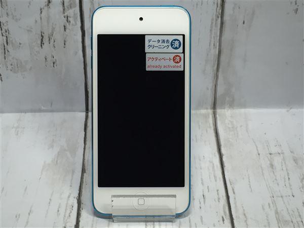 【中古】【安心保証】 iPodtouch5[16GB](ブルー)MGG32J