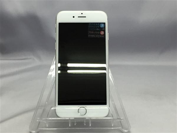【中古】【安心保証】 SoftBank iPhone6s[128G] シルバー SIMロック解除済