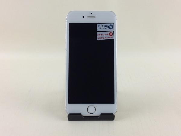 【中古】【安心保証】 docomo iPhone6s[128G] シルバー