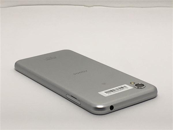【中古】【安心保証】 SIMフリー SH-M08 ホワイトシルバー