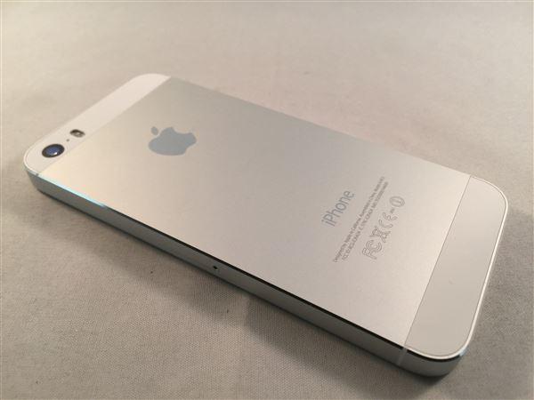【中古】【安心保証】 docomo iPhone5s[32GB-d] シルバー
