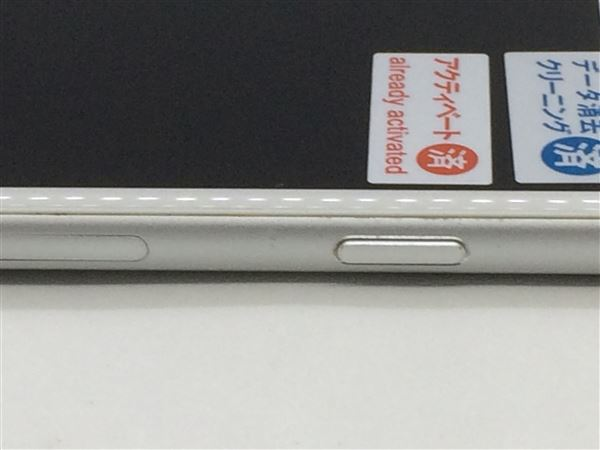 【中古】【安心保証】 au iPhone6Plus[16G] シルバー