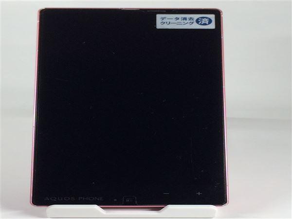【中古】【安心保証】 SoftBank 302SH ピンク