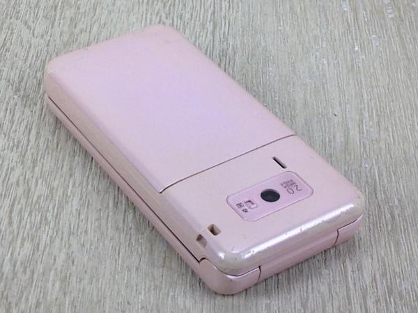【中古】【安心保証】 SoftBank 840SH[Jelly Beans] ピンク