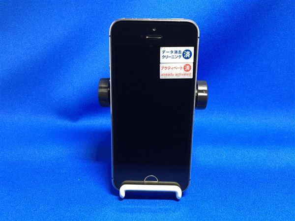 【中古】【安心保証】 docomo iPhone5s[32G] スペースグレイ