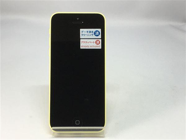 【中古】【安心保証】 docomo iPhone5c[32G] イエロー