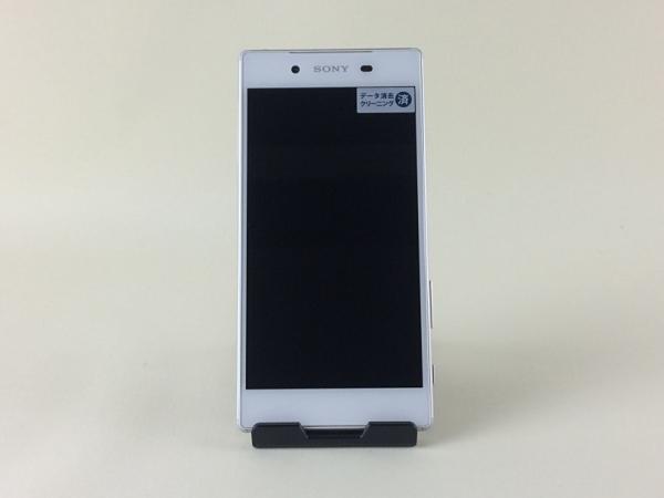 【中古】【安心保証】 au SOV32 ホワイト SIMロック解除済