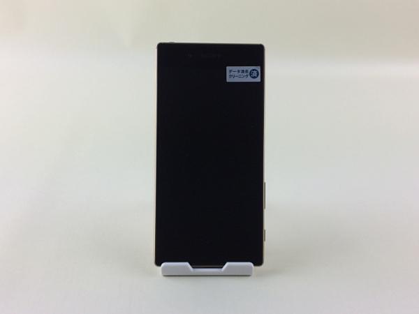 【中古】【安心保証】 SoftBank XperiaZ5_501SO ゴールド