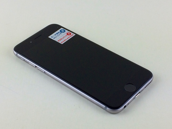 【中古】【安心保証】 SoftBank iPhone6[128G] スペースグレイ