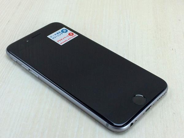 【中古】【安心保証】 docomo iPhone6[64G] スペースグレイ