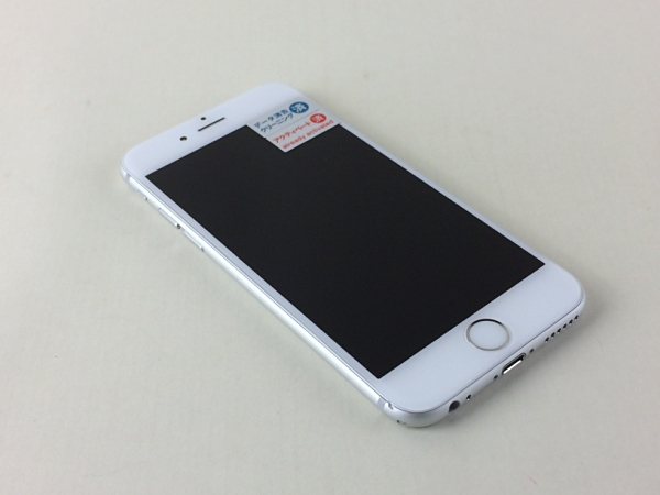 【中古】【安心保証】 SoftBank iPhone6[64G] シルバー
