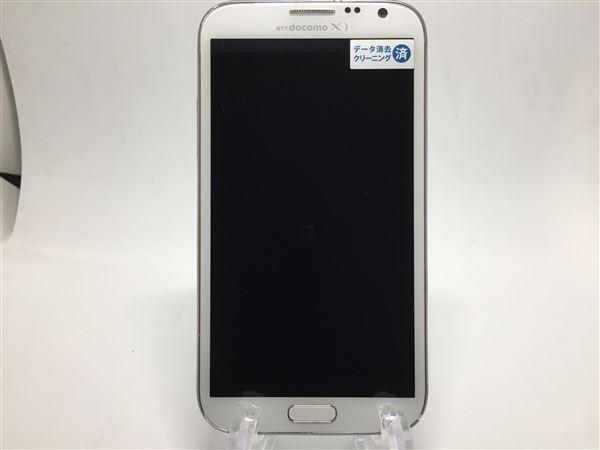 【中古】【安心保証】 docomo NEXT series GALAXY Note 2 SC-02E