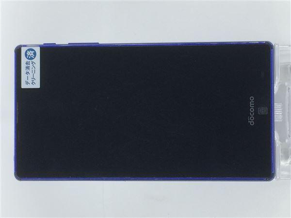 【中古】【安心保証】 docomo SH-01H ブルー