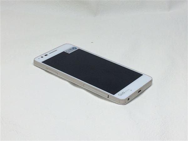 【中古】【安心保証】 au LGV33 ホワイト