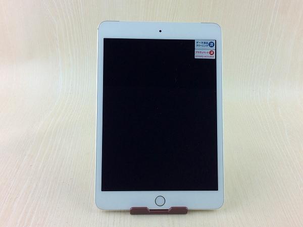 【中古】【安心保証】 au iPadmini3[WiFi+4G 64] シルバー