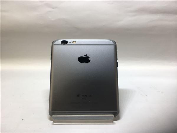 【中古】【安心保証】 au iPhone6s[128G] スペースグレイ