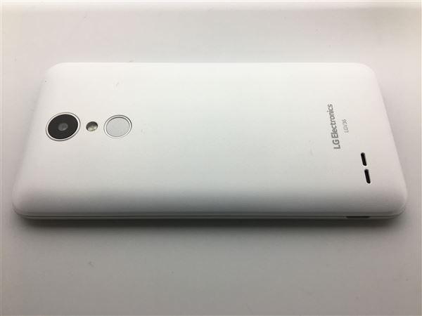 【中古】【安心保証】 au LGV36 パールホワイト