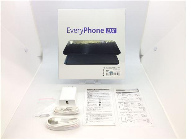 【中古】【安心保証】 SIMフリー EveryPhone DX ブラック