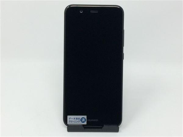 【中古】【安心保証】 UQモバイル nova2 グラファイトブラック