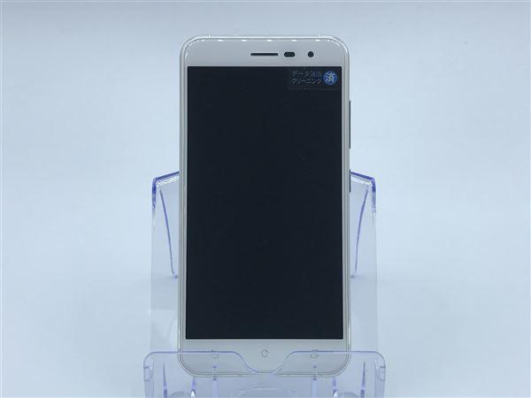 【中古】【安心保証】 SIMフリー ZenFone3[32G] ホワイト