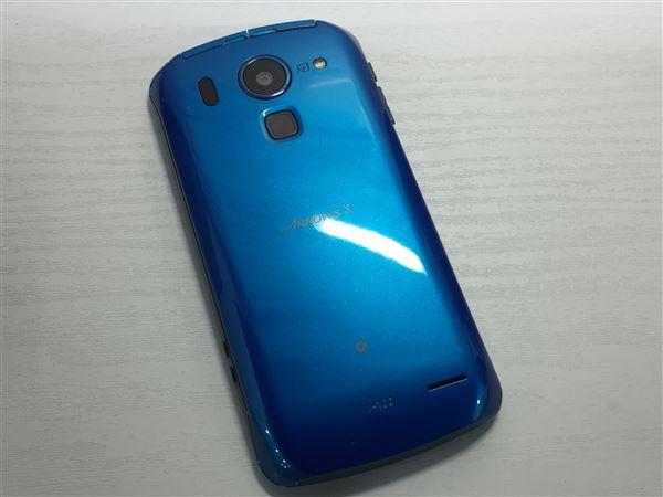【中古】【安心保証】 docomo Fー10D ブルー
