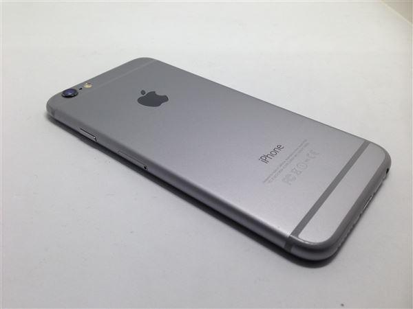 【中古】【安心保証】 docomo iPhone6[128G] スペースグレイ