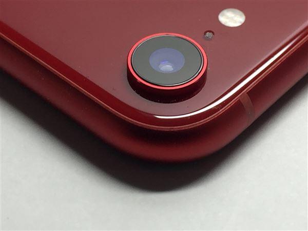 【中古】【安心保証】 au iPhoneXR[64G] レッド